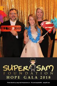 JKP photo booth at the super sam foundation gala